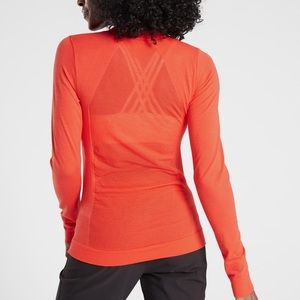 NWT Athleta ForestHill Long Sleeve Top